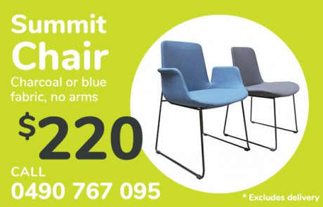 Summit Chair, no arms - only $220